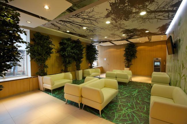 Офис компании Enter, зона ожидания © Архитектурная мастерская Сергея Эстрина