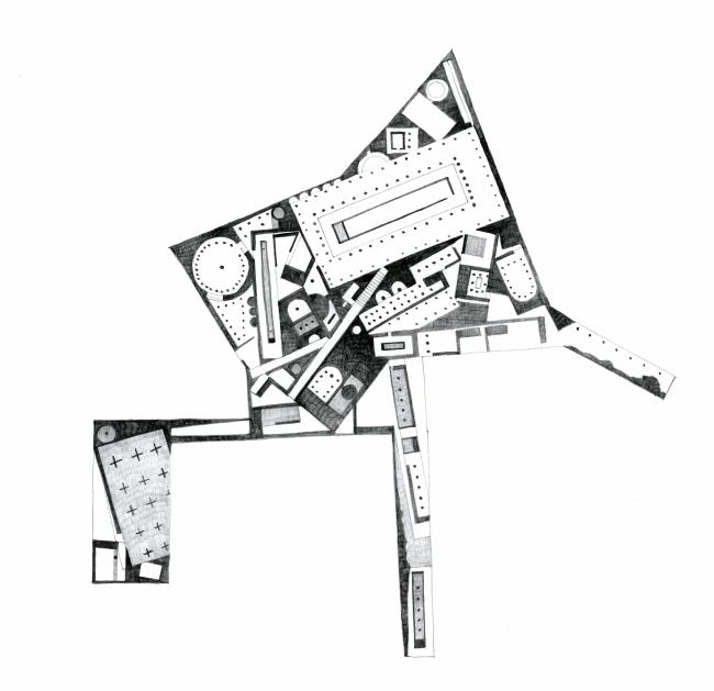 Проект транспортно-пересадочного узла «Павелецкая». Поиск образа. 2015 © Архитектурное бюро WALL