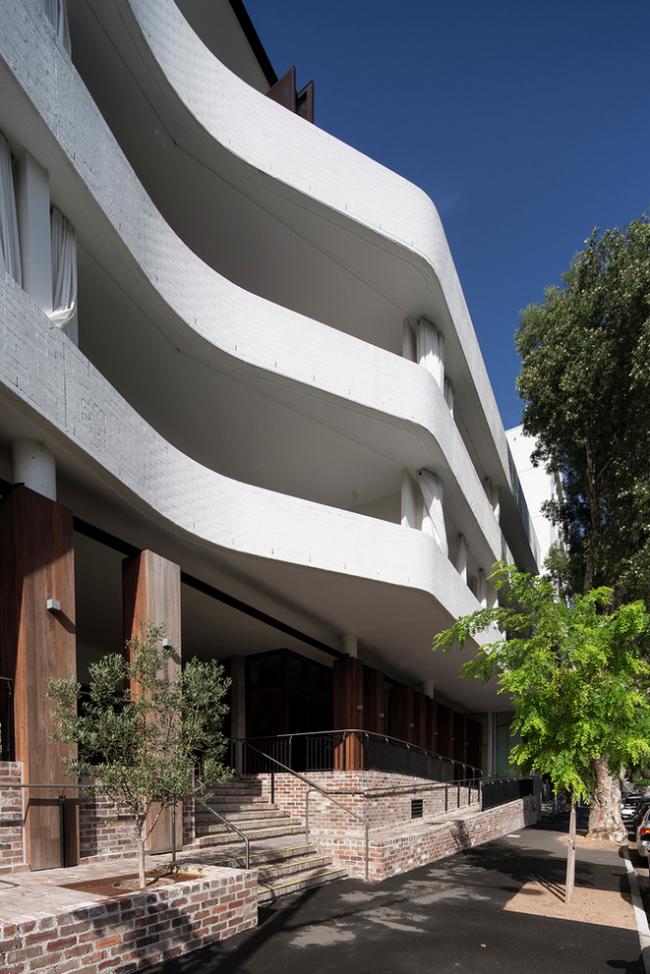 Апартаменты Casba (Австралия).  Billard Leece / SJB Architects. Изображение предоставлено WAF