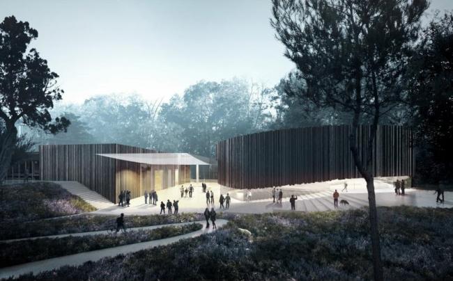 Центр исполнительских искусств (Великобритания). Studio Seilern Architects. Изображение предоставлено WAF