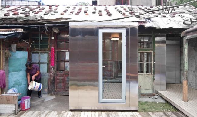 Courtyard House Plugin (Китай).  People′s Architecture Office. Изображение предоставлено WAF