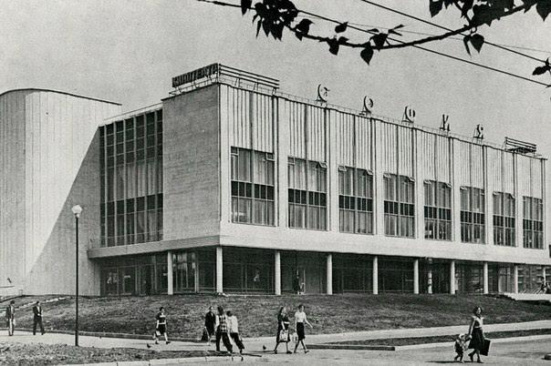 Кинотеатр «София» в Москве. Исторический облик. Архивные материалы © sovmod.ru, Михаил Князев