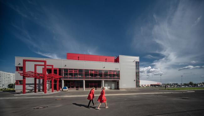 Молодёжный досуговый центр. Постройка, 2014 © Архитектурная мастерская А.А. Столярчука