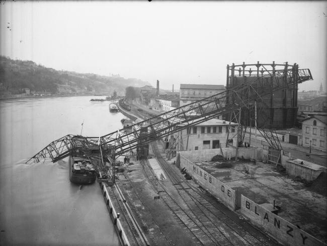 Порт Рамбо. Фото 1940-х гг. © Creative Commons / Bibliothèque municipale de Lyon