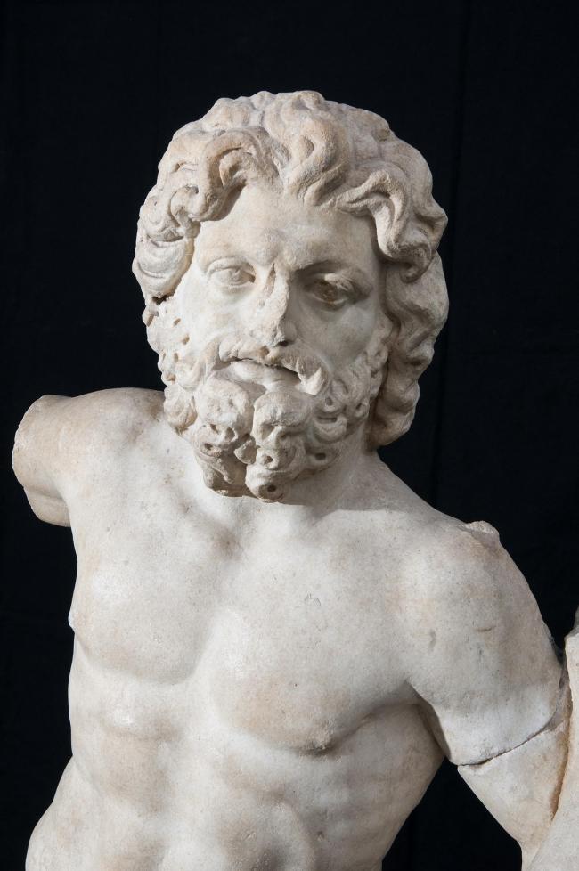 Статуя Юпитера. Уэд-Рмель.  II в. н.э. Собрание музея Бардо © Gianluca Baronchelli