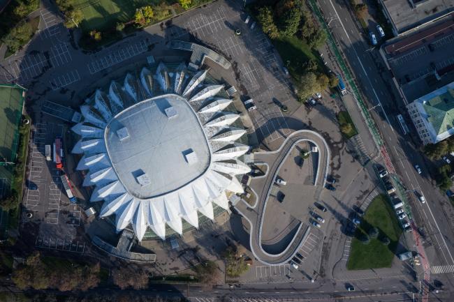 Универсальный спортивный зал «Дружба» в Лужниках © Денис Есаков и Дмитрий Василенко