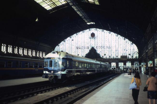 Вокзал Аточа, Мадрид. Архитектор А. де Паласио Элиссаге. 1892. Лицензия фото – CC BY-SA 3.0