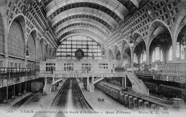 Вокзал Орсэ. Фото до 1958 г.