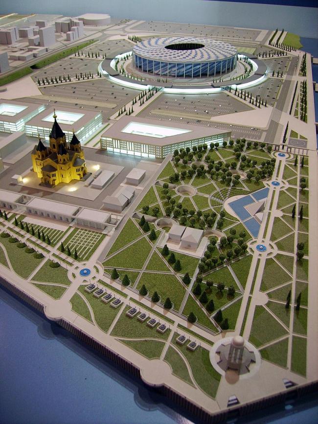 Проект стадиона ЧМ-2018 на Стрелке
