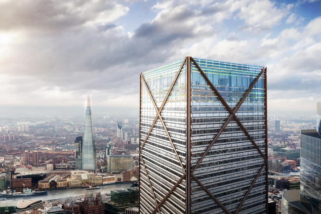 ����� 1 Undershaft  � DBOX ��� Eric Parry Architects