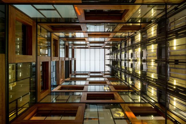 Центр инноваций Католического университета Чили «Анаклето Анджелини» © James Florio