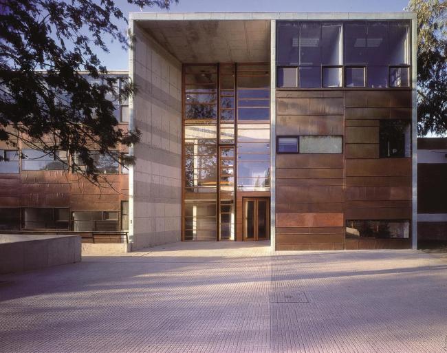 Школа математики Католического университета Чили. 1999 © Tadeuz Jalocha