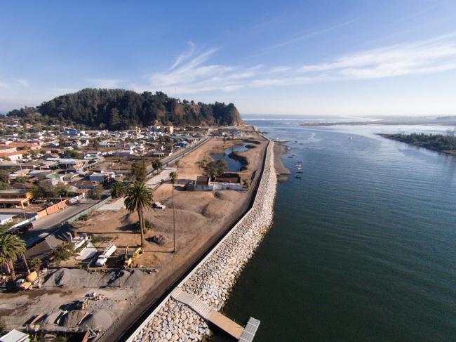 Реконструкция города Конститусьон после цунами. С 2010 © Felipe Diaz
