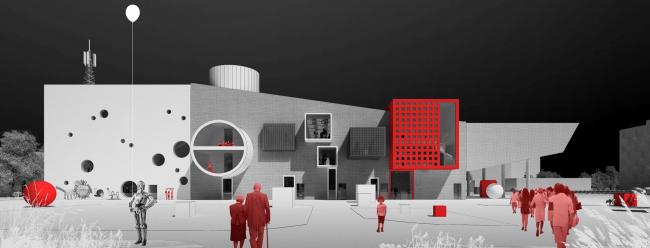 Проект редевелопмента кинотеатра «Варшава» © «Студия 44»