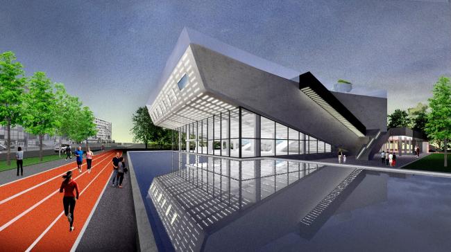 Проект редевелопмента кинотеатра «Варшава» © Консорциум: НОВОЕ + Практика + ZOLOTO Group + Хора + Проектная группа 8