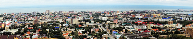 Панорама Махачкалы. Фотография © Эльдар Расулов, CC0 1.0