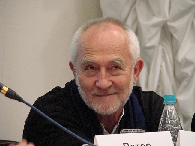 Архитектор Петер Цумтор. Председатель жюри конкурса. Фото Ю. Тарабариной