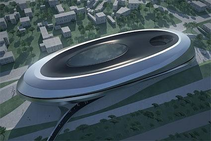 Zaha Hadid Architects Trading. Лондон, Великобритания. Третья премия