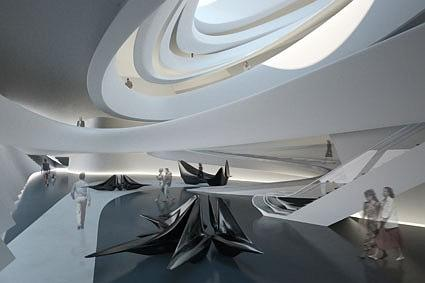 Zaha Hadid Architects Trading. Лондон, Великобритания. Третья премия