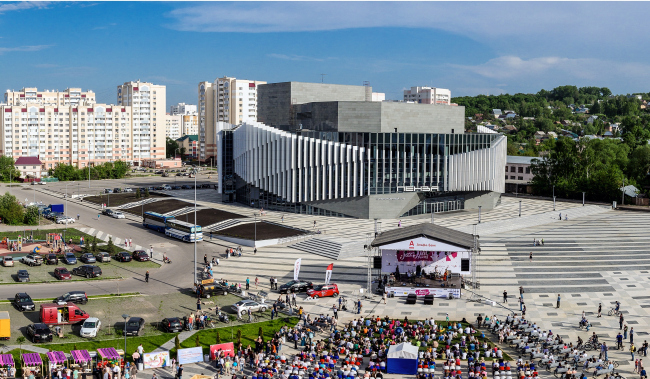 Киноконцертный зал «Пенза». Фотография © Александр Назаров. Архитектурное бюро «Март»