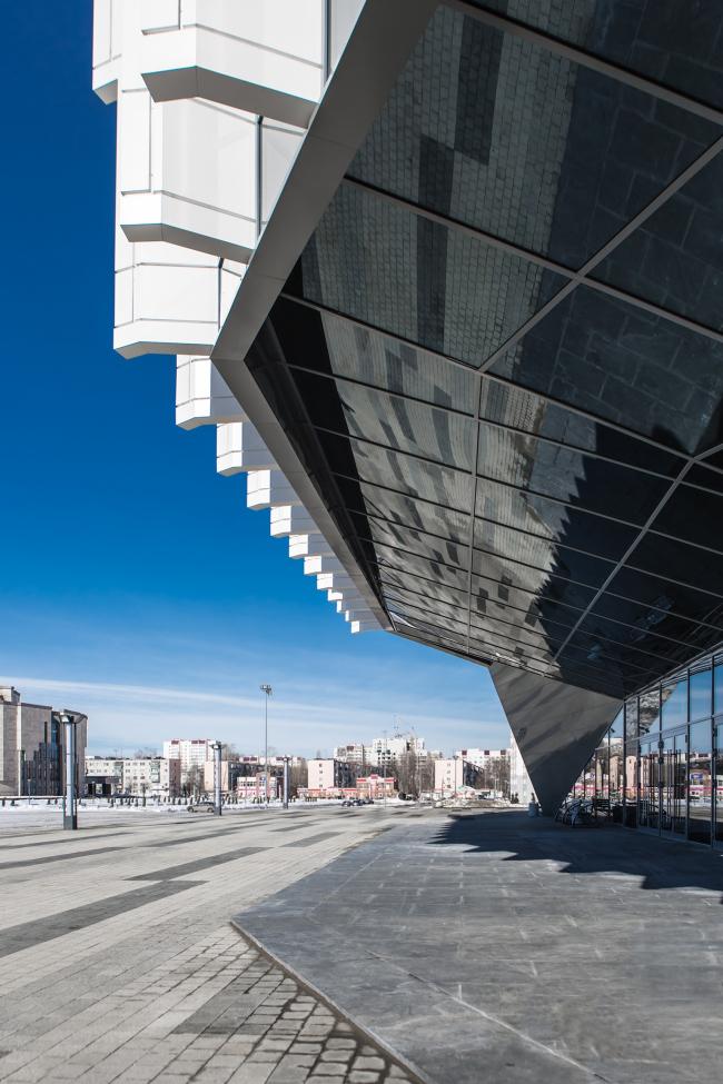 Киноконцертный зал «Пенза». Фотография © Сергей Анищенко. Архитектурное бюро «Март»