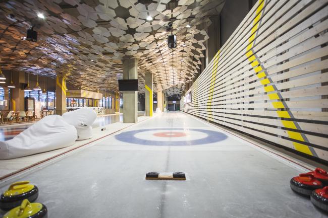 Кёрлинг-Холл. Интерьер, 2014 © AMD Architects. Фотография: Вера Петрова