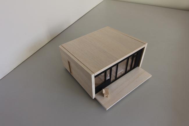 Серия домов «Дом-ковчег». Ковчег-3 (3 модуля). Макет. Постройка, 2015 © АрхПроект-3
