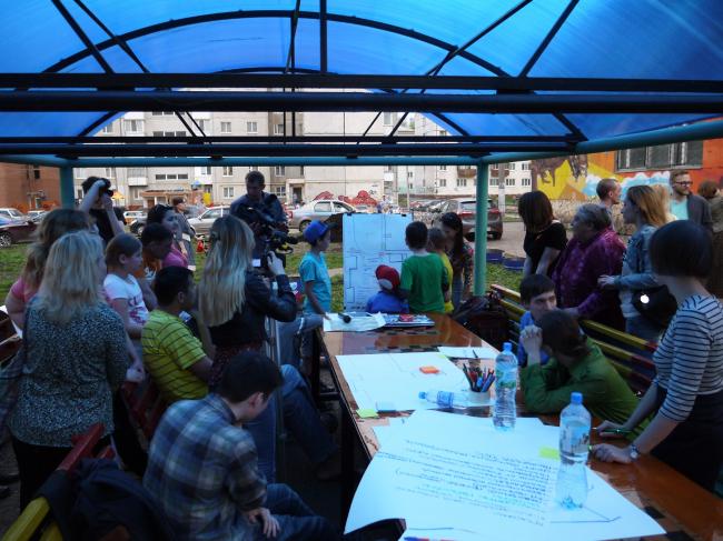 Программа благоустройства дворов в Уфе © Проектная группа 8