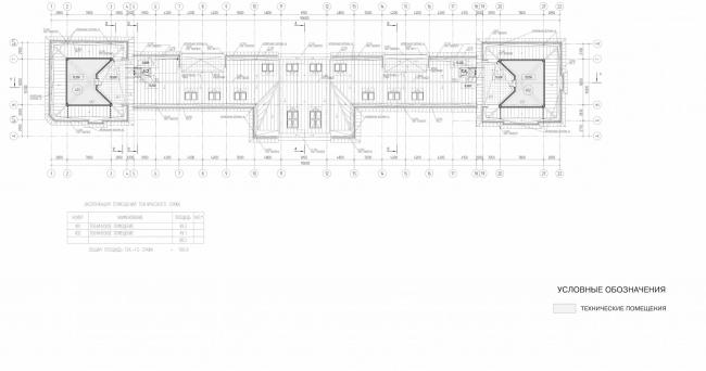 Арма: корпус 1. План 4 этажа © Сергей Киселёв и Партнёры