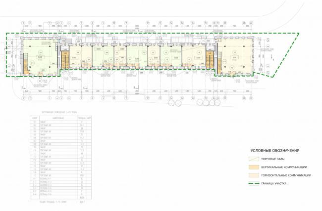 Арма: корпус 2. План 1 этажа © Сергей Киселёв и Партнёры