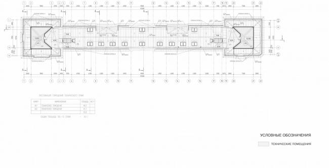 Арма: корпус 2. План 4 этажа © Сергей Киселёв и Партнёры