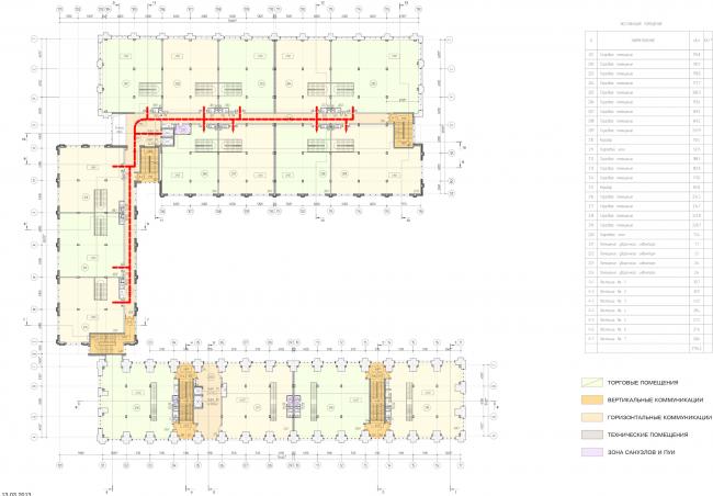 Арма: корпуса 4, 5, 5а. План 2 этажа © Сергей Киселев и Партнеры
