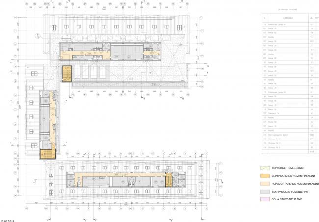 Арма: корпуса 4, 5, 5а. План 5 этажа © Сергей Киселев и Партнеры