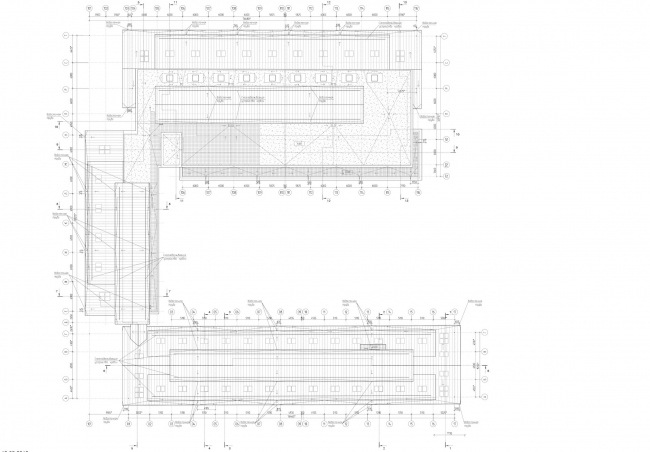 Арма: корпуса 4, 5, 5а. План кровли © Сергей Киселев и Партнеры