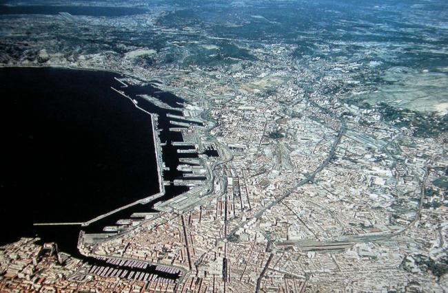 Северная часть города. © EPA Euroméditerranée