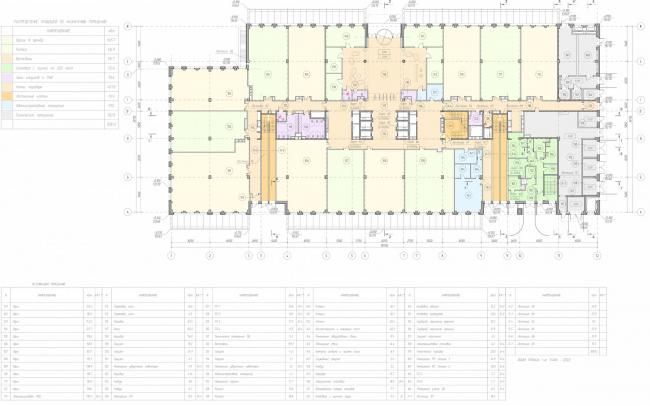 Арма: корпус 19. План 1 этажа © Сергей Киселев и Партнеры