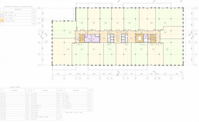 Арма: корпус 19. План 6 этажа © Сергей Киселев и Партнеры