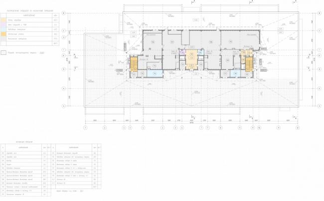 Арма: корпус 19. План 7 этажа © Сергей Киселев и Партнеры
