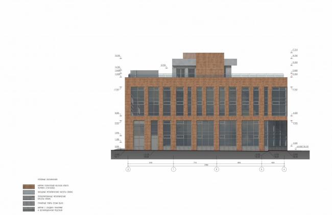 Арма: корпус 25. Фасад © Сергей Киселев и Партнеры