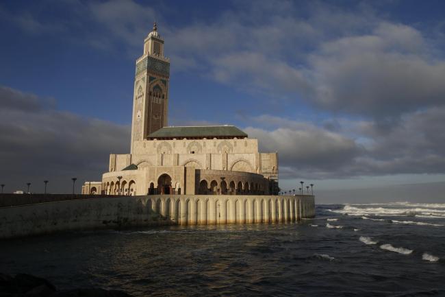 Касабланка. Мечеть Хасана II. 1986–1993. Мишель Пенсо (Michel Pinceau). Фото © Лев Масиель Санчес
