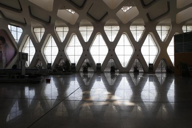 Марракеш. Аэропорт Менара, терминал 1. 2005–2008. Фото © Лев Масиель Санчес