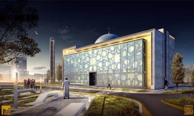 Реконструкция здания под мусульманский религиозный центр «14 Святых» © Mamedov + Partners