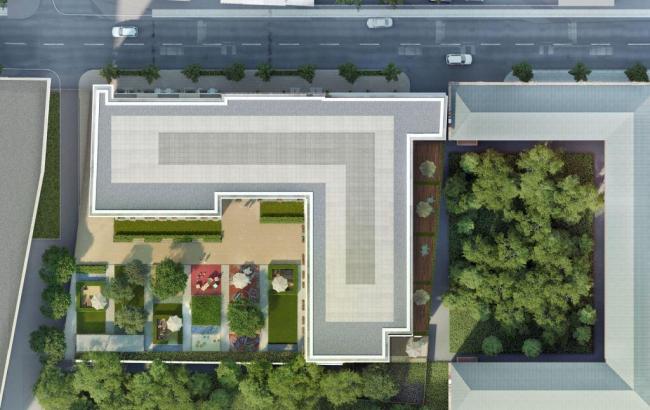 Концепция жилого дома на Малой Ордынке. Проектная организация: «Архитектурный диалог с Мегаполисом». Заказчик: «Смайнэкс»