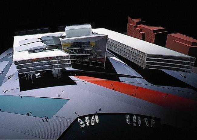 Заха Хадид. Оперный театр в столице Уэльса Кардиффе © Zaha Hadid Architects