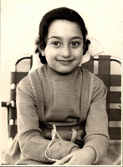 Заха Хадид в возрасте 6 лет © Zaha Hadid Architects