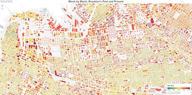 Карта Бруклина © Thomas Rhiel
