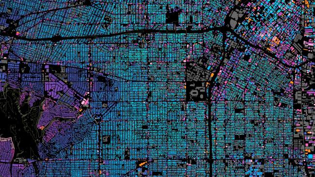 Карта Лос-Анджелеса © Omar Ureta