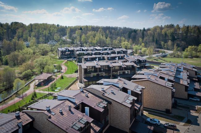 Спортивно-жилой комплекс «Олимпийская деревня Новогорск». Реализация, 2013 © «Архитектуриум»