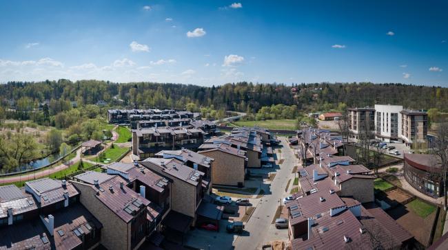 Спортивно-жилой комплекс «Олимпийская деревня Новогорск». Таунхаусы