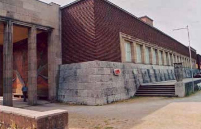 Вильгельм Крайз. Выставочный комплекс Гезоляй в Дюссельдорфе. 1925–1926